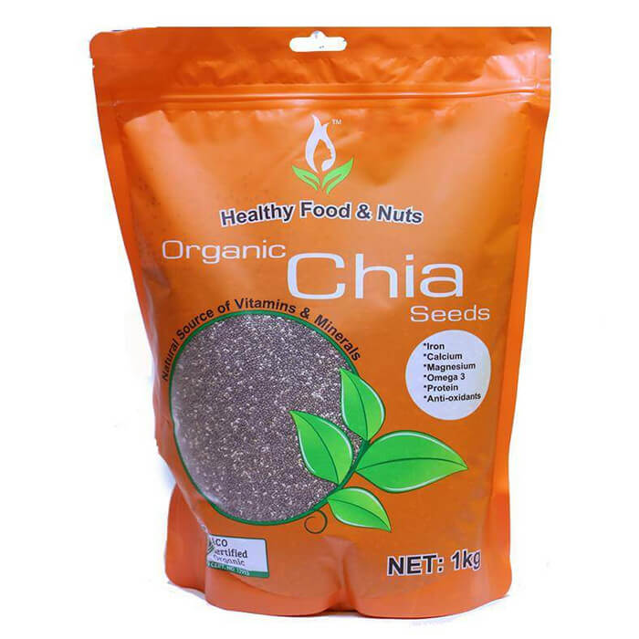 hat chia healthy food nuts organic chia seed uc 1kg anh 1